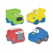Carros Amiguinhos com 4 Carrinhos WinFun Motion Fun