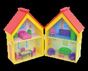 Casinha de Boneca de Madeira Casa Yellow House