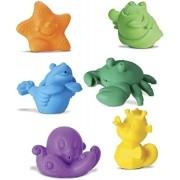 Coleção Bichinhos Frutos do Mar Brinquedos de Banho Roma Jensen