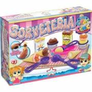 Comidinhas de Brinquedo Crec Crec Sorveteria Big Star