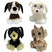 Faça e brinque Kit Pompom Animais Cachorrinho