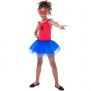Fantasia Avg Spider Girl - tamanho P