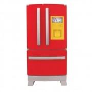 Geladeira Refrigerador Side by Side Casinha Flor para casinha Infantil