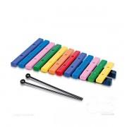 Instrtumento musical Infantil Xilofone Colorido