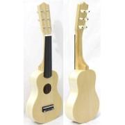 Instrumento Musical Infantil de Madeira Violão Corda Nylon Custom