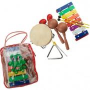 Instrumento Musical Infantil Kit Percussão
