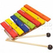 Instrumento Musical Infantil Lira de Madeira