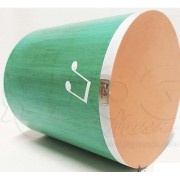 Instrumento Musical Infantil Surdinho Madeira 25×25 cm