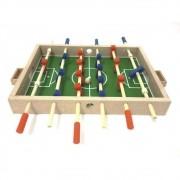 Jogo Educativo de Madeira Futebol de Mesa  Pebolim