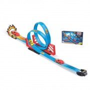 kit Carrinhos com pista Duplo Looping