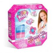 Kit de Artesanato Color Blings Kit Pulseiras e Anéis