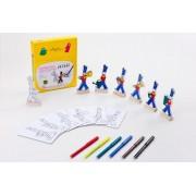 Kit Pintura Brinquedo de Madeira Soldadinho Sem Chumbo