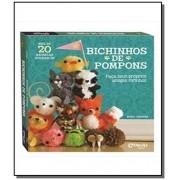 Livro de Artesanato Bichinhos de Pompons Faça e Brinque