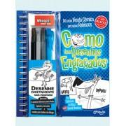 Livro de Desenho Como Fazer Desenhos Engraçados