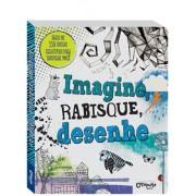 Livro de Desenho e Pintura Imagine, Rabisque e Desenhe
