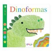 Livro Dedinhos Dinoformas