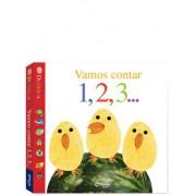 Livro Infantil Dedinhos Vamos Contar 1, 2, 3?