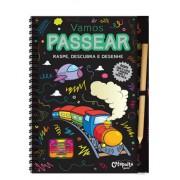 Livro Infantil Raspe, Descubra e Desenhe Vamos Passear