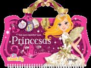 Livro Lili Chantilly Tudo Para Desenhar Princesas Catapulta