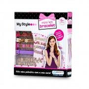 Pulseiras My Style Mini Kit com letras Multikids