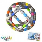 Puzzle 3D Bola 4- 36 peças e conexões