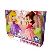 Quebra Cabeça Princesas 100 Peças