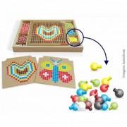 Treino cerebral Brinquedo Educativo em Madeira de Montar