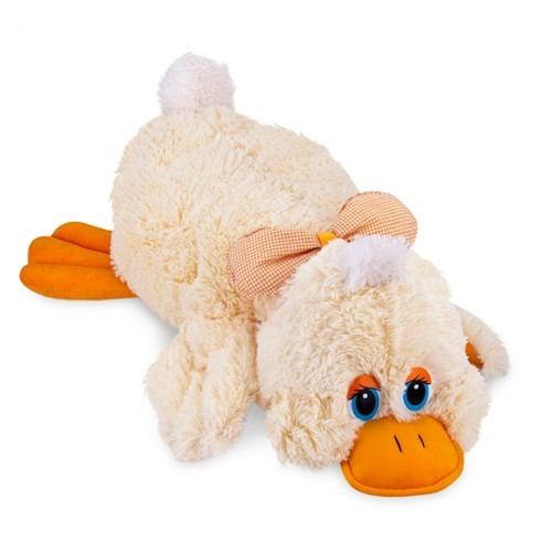 Almofada Pato Deitado Bicho de Pelúcia