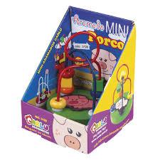 Aramado Mini Porco Brinquedo Educativo de Madeira