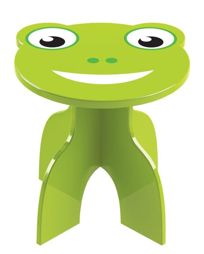 Banquinho de Madeira Animalkids Frog
