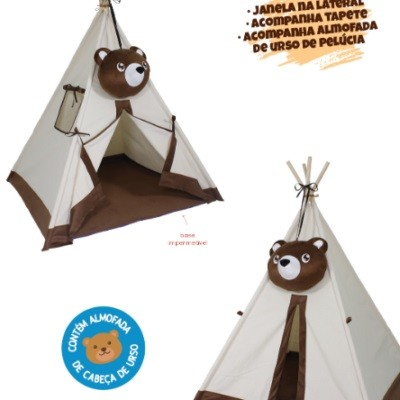 Barraca Tenda Cabana Urso