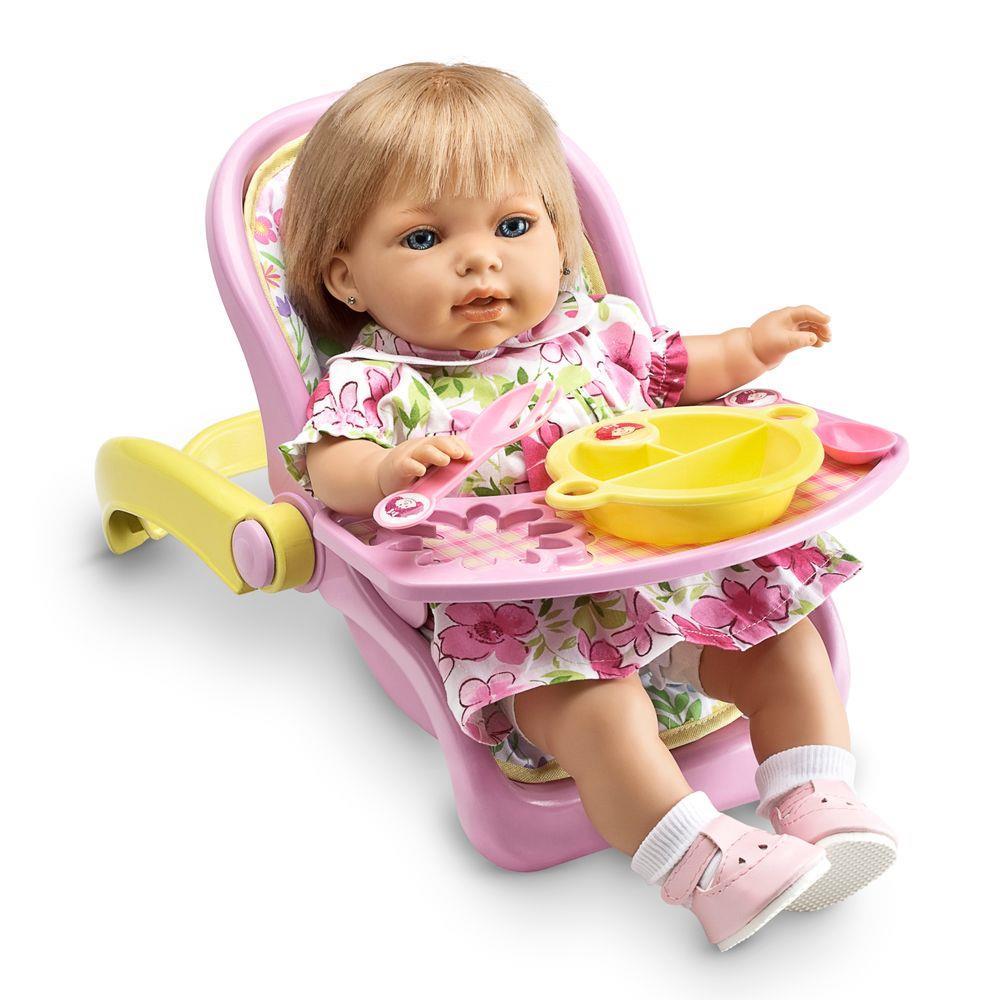 Bebê Conforto para Boneca 2 em 1