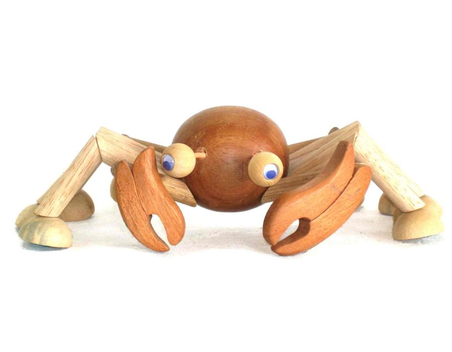 Bicho de Madeira Articulado Caranguejo Geriba