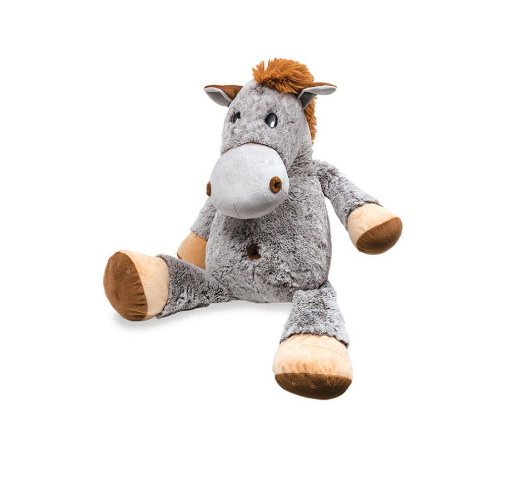 Bicho de Pelúcia Cavalo Amigão Cinza