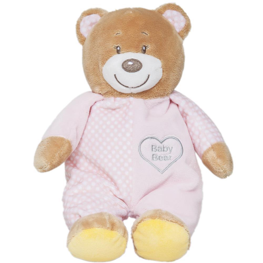 Bicho de Pelúcia Urso Baby Bear Rosa