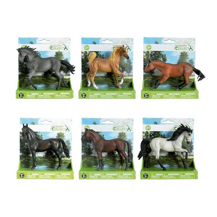 Bichos Miniatura Cavalos Sortidos Set 2 Collecta - Referente a 1 Unidade - Sortida e Variada