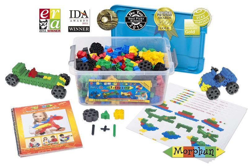 Blocos de Montar Junior Starter 300 peças Brinquedos Educativos