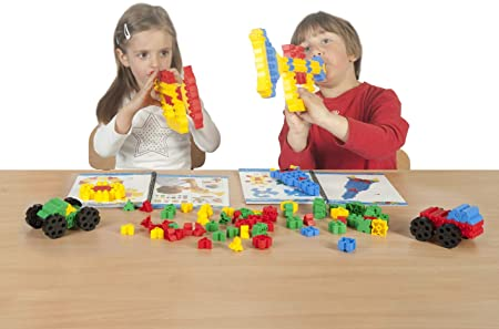 Blocos de Montar Morphun Junior 170 peças Table set Brinquedo Educativo