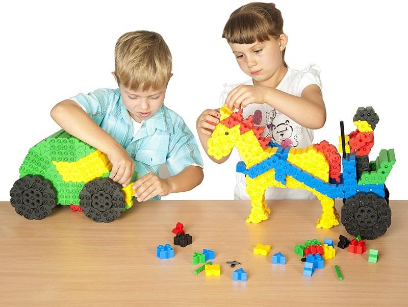 Blocos de Montar Morphun Junior 300 peças Brinquedo Educativo