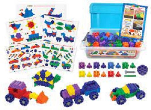 Blocos de Montar Morphun Junior Starter 185 peças Double table set Brinquedo Educativo