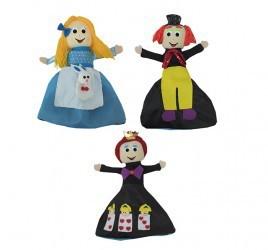 Boneca Alice que Vira Chapeleiro Maluco e Rainha