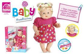 Boneca Baby Presilhinhas Roma Jensen