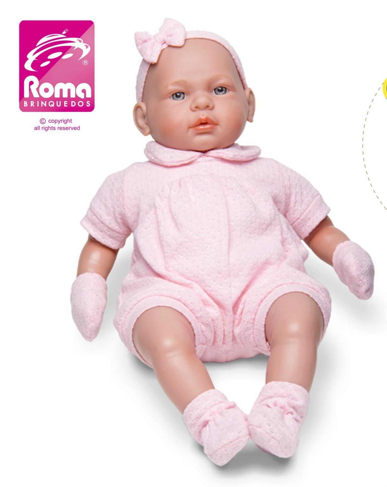 Boneca Bebê Real Roma Jensen