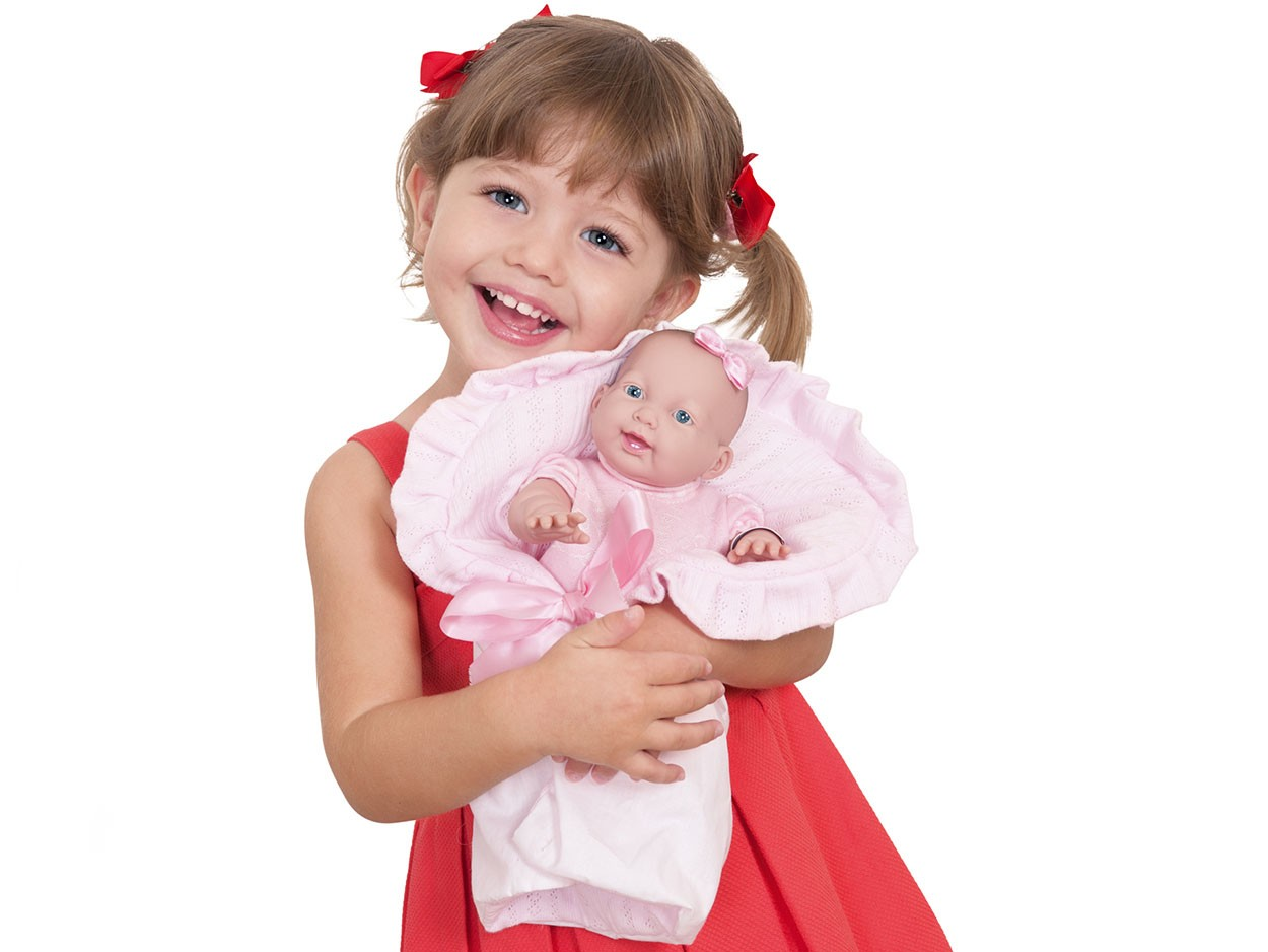 Boneca Bebezinho da Mamãe Pequena Cotiplás