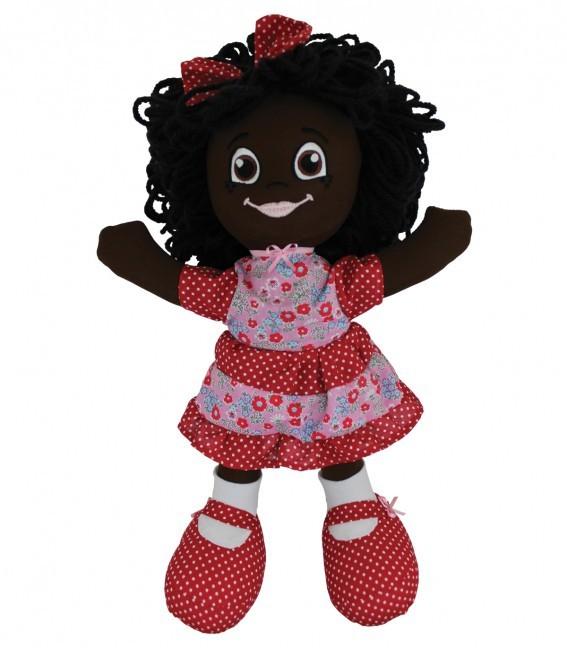 Boneca de Pano Malu Tamanho G