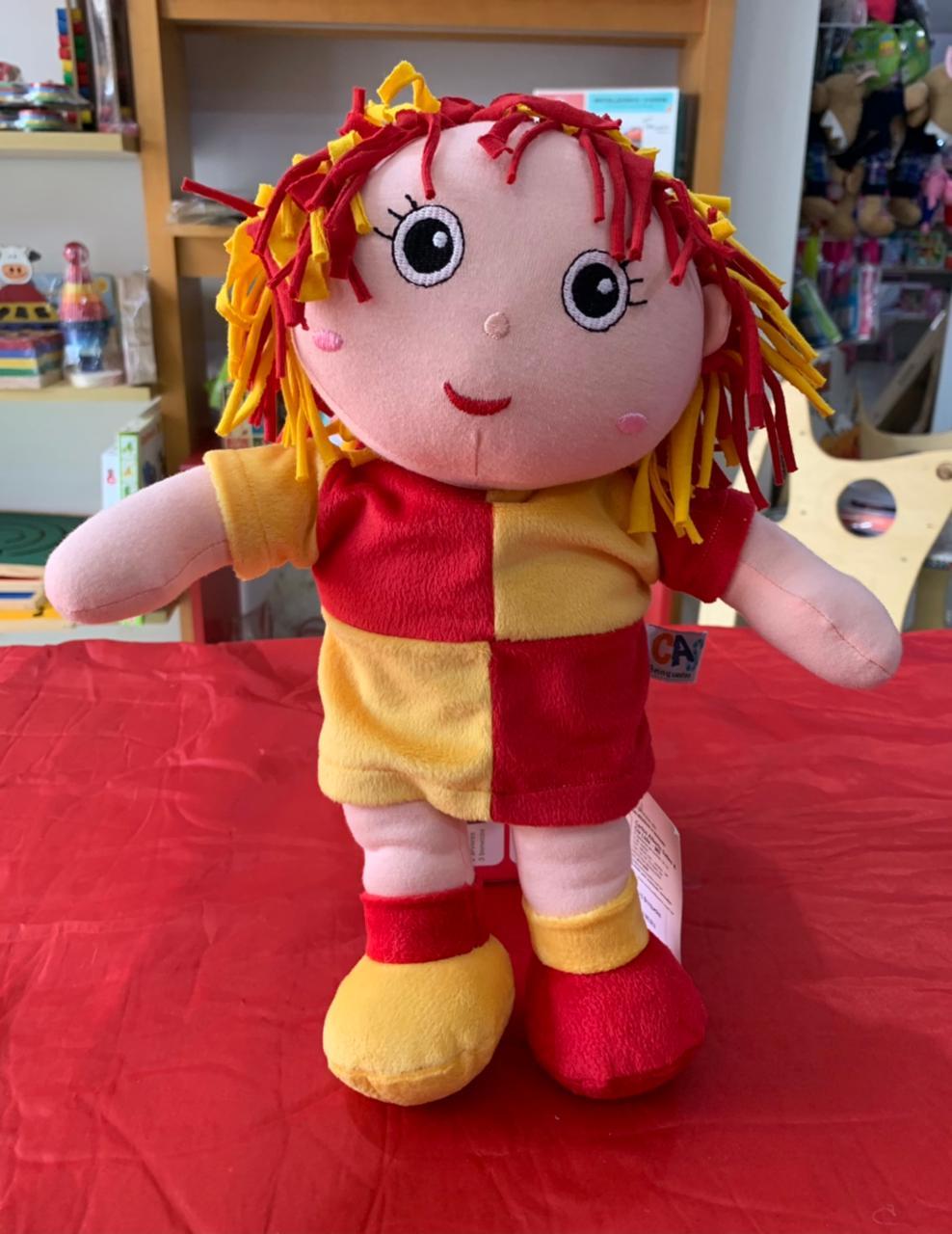 Boneca Emília Sítio do Pica Pau Amarelo