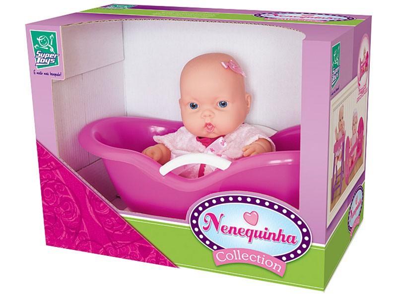 Boneca Nenequinha Banheirinha