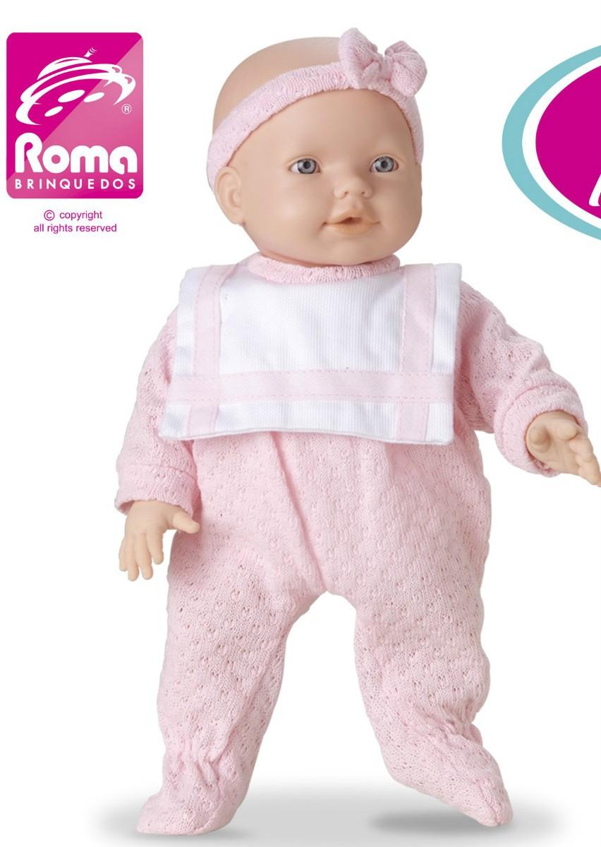 Boneca New Mini Bebe Mania Roma Jensen
