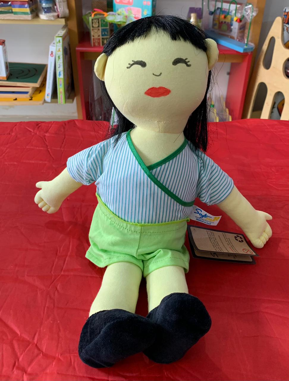 Boneco Étnico Japonês