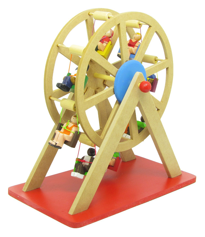 Brinquedo Artesanal de Madeira Roda Gigante